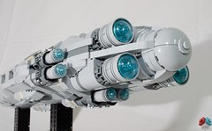 DSC_1479 (Jorstad Designs, LLC) Tags: lego star wars rebel alliance fleet mon calamari scale moc ucs jorstad designs llc mc80a mc80b home one liberty cruiser class hammerhead corvette mc30c frigate dp20 blockade runner