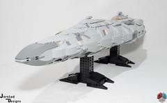 DSC_1474 (Jorstad Designs, LLC) Tags: lego star wars rebel alliance fleet mon calamari scale moc ucs jorstad designs llc mc80a mc80b home one liberty cruiser class hammerhead corvette mc30c frigate dp20 blockade runner