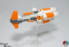 DSC_1393 (Jorstad Designs, LLC) Tags: lego star wars rebel alliance fleet mon calamari scale moc ucs jorstad designs llc mc80a mc80b home one liberty cruiser class hammerhead corvette mc30c frigate dp20 blockade runner