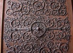Door of Notre Dame (skipmoore) Tags: notredamecathedral door ornament scrollwork