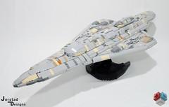 DSC_1345 (Jorstad Designs, LLC) Tags: lego star wars rebel alliance fleet mon calamari scale moc ucs jorstad designs llc mc80a mc80b home one liberty cruiser class hammerhead corvette mc30c frigate dp20 blockade runner