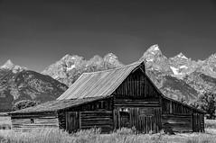 Mormon Row (Michael Kerick) Tags: wyoming grandteton