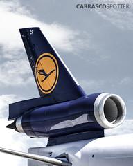 MD-11 Lufthansa (Carrascospotter) Tags: plane airplane boeing eeuu spotter spotting md11 cargo aviation aviationgeek avgeek germany uruguay lufthansa