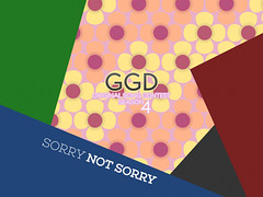 GGD_OSC_S04_artwork_final-V2 (harrystefani) Tags: artwork theme colors colours design art flowers pink yellow notsorry sorry sorrynotsorry cover coverart vertical arts popart shapes pop