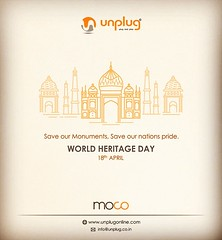 World Heritage Day 2019 (UnPlug Online) Tags: people knowledge origin culture powerful incredible india history heritage roots 2019