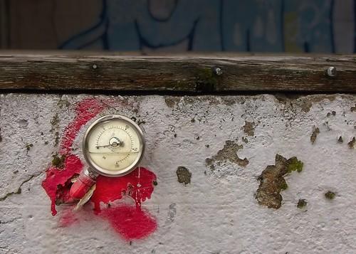 Broken Gauge Abandoned Factory 668 A