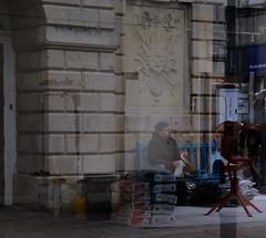 Milk Mixer and Cement (Bury Gardener) Tags: 2019 street streetcandids snaps strangers candid candids people peoplewatching folks england eastanglia uk britain fuji fujifilm fujixt3 burystedmunds suffolk cornhill