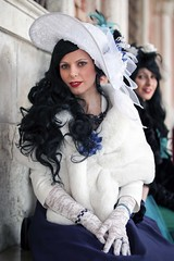 Portrait from Carnevale di Venezia 2019 (Gordon.A) Tags: italy italia venice venezia veneto carnevale carnival venicecarnival carnevaledivenezia carnavaldevenecia carnavaldevenise karnevalinvenedig 2019 venetian veneziano creative costume hat design festival event eventphotography culture subculture lifestyle people pretty lady woman face model pose posed posing outdoor outdoors outside naturallight colour colours color amateur street portrait portraitphotography digital canon eos 750d sigma sigma50100mmf18dc