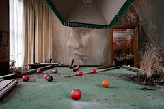 "Billiards, ""Empire"", Burnham Beeches (Joe Lewit) Tags: variosonnart281635 burnhambeeches sherbrooke victoria art installation rone empire artdeco billardtable billiardballs billiardcues"