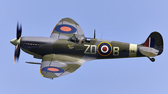 Spitfire (Bernie Condon) Tags: vickers supermarine spitfire warplane fighter raf royalairforce fightercommand ww2 battleofbritian military preserved vintage aircraft plane flying aviation