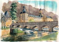 Brantôme (Cat Gout) Tags: nouvellaquitaine village abbaye dordogne eu périgord brantôme