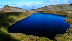 Lake Above the Clouds (Mountain Bracken) Tags: 2019 coum galteemountains galty knockastackeen lake landscape limerick outdoor path spring tipperary water aherlow cirque clouds corrie cwm glenofaherlow hiking ireland mountain munster scree sky slope weatherinversion geographical landforms