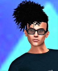 {Letituier} &:: DS::@ Stag Men Monthly Event April 2019 (Geoffrey Firehawk MR V♛ Belgium 2014) Tags: sl secondlife event stagmenmonthly glasses accessory ds hair hairstyle letituier portrait face headshot handsome model modeling mode mannequin malefashion menswear male men guy homme