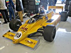 336 Fittipaldi F8 (Skol Team Fittipaldi) (1980) (robertknight16) Tags: fittipaldi skolfitipaldi british 1980s f8 racecar racingcar f1 formulaone grandprix rosburg postelthwaite newey silverstoneclassic pickering