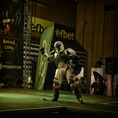 AnimeS Expo 2019 (BG): Day 2 Cosplay Contest: Star Wars Trooper (videogame) (SpirosK photography) Tags: cosplay contest cosplaycontest animesexpo2019 animesexpo portrait stage onstage performance bulgaria sofia solocosplay starwars empire trooper stormtrooper