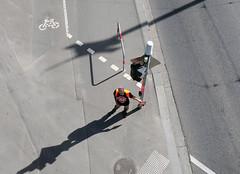 - (_barb_) Tags: australia melbourne road stopadani street shadows