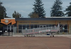 Whyalla Airport Terminal (mikecogh) Tags: whyalla airport terminal steps apron