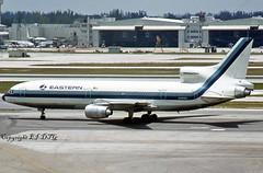 Lockheed L-1011 Tristar 1 N337EA Eastern (EI-DTG) Tags: miamiinternational kmia lockheed tristar l1011 trijet n337ea eastern ri