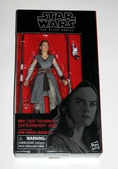 star wars the black series 6 inch action figure #44 rey jedi training the last jedi wounded right arm version variant hasbro 2017 misb 1a (tjparkside) Tags: rey jedi training wounded right arm variant version star wars black series 6 inch action figure 44 last hasbro 2017 episode eight 8 viii tlj bo staff blaster pistol lightsaber hilt blue grey luke skywalker ahchto ahch basic figures misb