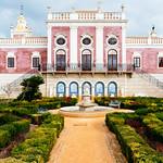 Pousada Palácio Estói with beautiful garden in front thumbnail
