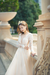 Erene Gown 4 ([EPIX Production]) Tags: people portrait portraits beautiful asian young girl pretty model carshow autoshow wedding gown dress prewedding bride marriage