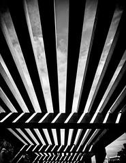 Pérgolas (Ricardo Pallejá) Tags: nikon d500 blancoynegro bw blackandwhite monocromático monocromo contraste calle contraluz street shades silueta sombras pérgolas urbana urban urbanexploration tokina
