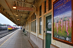 What A Bummer (whosoever2) Tags: uk united kingdom gb great britain england nikon d7100 train railway railroad april 2019 cardiff central station wales dbcargo class60 60024 clitheroe castle 6b13 robeston westerleigh calendar girls poster