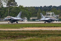Qatar Emiri Air Force / Rafale / QA202 QA203 / LFBO (_Wouter Cooremans) Tags: bod lfbo bordeaux merignac spotting spotter avgeek aviation airplanespotting qatar emiri air force rafale qa202 qa203 qataremiriairforce