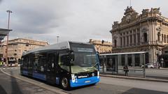 Alstom Aptis (Lu_Pi) Tags: amt genova autobus bus buselettrico electricbus alstom aptis businprova test brignole principe
