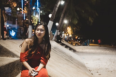 _MG_3221 (waychen_c) Tags: philippines ph visayas centralvisayas bohol provinceofbohol panglaoisland panglao municipalityofpanglao alonabeach portrait girl yuting red coast coastline beach night nightscape cebu tour 2019 菲律賓 維薩亞斯 維薩亞斯群島 中維薩亞斯 保和 保和省 邦勞島 邦勞 阿羅那海灘 海灘 2019宿霧旅行 南洋