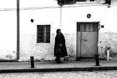door (brekna) Tags: street streetphotography streetphoto streetphotobw fujifilm xt1 bw blackandwhite monochrome minimal human people outdoor door walking woman window