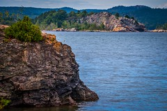 Marquette Scenery (Epperly Photographic Images) Tags: marquette michigan presque isle state park lakesuperior lake cliff nature