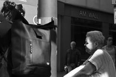 Stadt (tiltdesign2016) Tags: nikonlensseriese50mm118 analogphotography bw kodaktmax400 400200asa pull plustekopticfilm7600ise leicam2 adapter kodakd7611 wuppertal elberfeld sonne kontrast stadt street strase