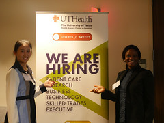 P1060160 (UTHealth SBMI) Tags: school biomedical informatics sbmi uthealth career day