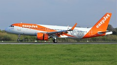 G-UZHF (AnDyMHoLdEn) Tags: easyjet a320 neo egcc airport manchester manchesterairport 05r