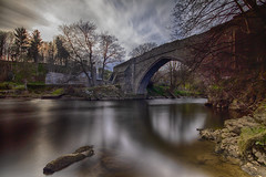"fine art, long exposure, sumptuous colour view of the ancient and charming Brig o'Balgownie over the River Don, Old Aberdeen, Aberdeen, Scotland (grumpybaldprof) Tags: canon 7d ""canon7d"" sigma 1020 1020mm f456 ""sigma1020mmf456dchsm"" ""wideangle"" ultrawide aberdeen ""aberdeencity"" ""granitecity"" ""oldaberdeen"" grampian scotland uk ""beautifulcity"" ""northeastscotland"" aberdeenshire aiberdeen ""obardheathain"" aberdonia ""fineart"" ethereal striking artistic interpretation impressionist stylistic style contrast shadow bright dark black white illuminated mood moody atmosphere atmospheric calm peaceful tranquil restful colour colours ""longexposure"" ""neutraldensity"" nd"