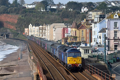 GWR Off-lease stock transfer (philwakely) Tags: gwr fgw greatwesternrailway greatwestern firstgreatwestern first class47 railoperationsgroup diesel locomotive railway railways rail trains train dawlish