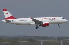 OE-LBN / Airbus A320-214 / 768 / Austrian Airlines (A.J. Carroll (Thanks for 1 million views!)) Tags: oelbn airbus a320214 a320200 a320 320 768 cfm565b4p austrianairlines staralliance dgbp 44001a london heathrow lhr egll 09l