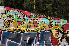 Para (Alex Ellison) Tags: para northwestlondon urban graffiti graff boobs parklandwalk halloffame