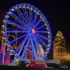 Cincinnati (ridgewalker51) Tags: nightlights nikon ferriswheel skyline night cincinnati ohio