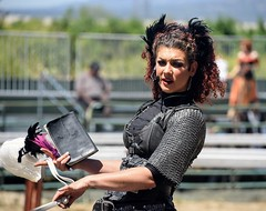 RenCa204 (ONE/MILLION) Tags: original pleasure renaissance faire festival california people crowds colorful costumes makeup actors characters time travel jousters joust jousting music dance stage art artisan shops fun williestark onemillion food drinks beer kids children pet zoo clan tynker hats beards events visit horses clantynker