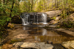 Waterfalls at Caesars Head_0794 (smack53) Tags: smack53 water waterfalls stream rocks greenville southcarolina trees reflections trail springtime spring nikon d3100 nikond3100 reflection