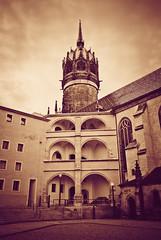 Schloss Lutherstadt Wittenberg   Castle Lutherstadt Wittenberg (DonSal_LE) Tags: luther wittenberg sachsenanhalt schloss schlosskirche thesen castle church theses germany lutherstadt luthertown