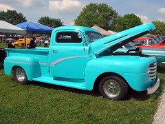 1948 Ford F-1 (splattergraphics) Tags: 1948 ford f1 pickup truck custom chopped carshow nsra streetrodnationalseast yorkexpocenter yorkpa