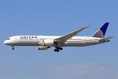 United Airlines  Boeing 787-9 Dreamliner N36962 (widebodies) Tags: frankfurt main fra eddf widebody widebodies plane aircraft flughafen airport flugzeug flugzeugbilder united airlines boeing 7879 dreamliner n36962