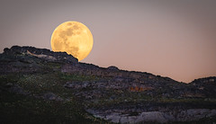 Moonrise (Jami Bollschweiler Photography) Tags: moon photography landscape utah photographer