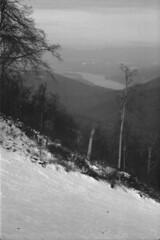 Danube from Dobogókő (lumpy79) Tags: praktica mtl5 helios44m 258 ilford hp5 400 1600 danube dobogókő pilis