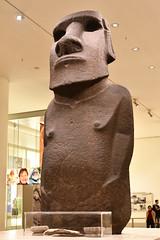 Hoa Hakananai'a Statue (AD 1000-1200) (Bri_J) Tags: britishmuseum london uk museum historymuseum nikon d7500 hoahakananai'a statue orongo easterisland chile birdmancult