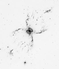 Southern Crab Nebula, variant (sjrankin) Tags: southerncrabnebula hen2104 wray16147 19april2019 edited nasa hst hubblespacetelescope esa europeanspaceagency nebula