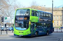 MX13 AEE. (curly42) Tags: arriva4504 mx13aee volvob5lhybrid wrighteclipsegemini2 bus travel transport arriva crossriverbranding arrivacrossriver publictransport